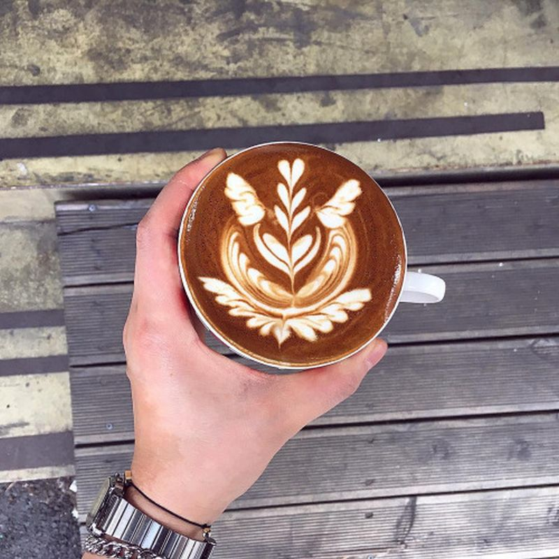Elly's latte art