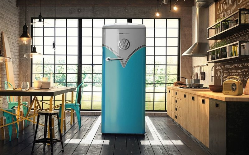 Vintage meets modern in this special edition Gorenje Retro VW fridge