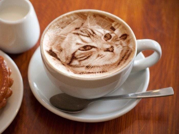 latte art by dongurinekobei