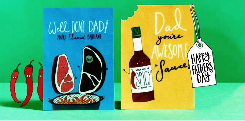 World's first edible, meat-flavored greeting cards for Father's day