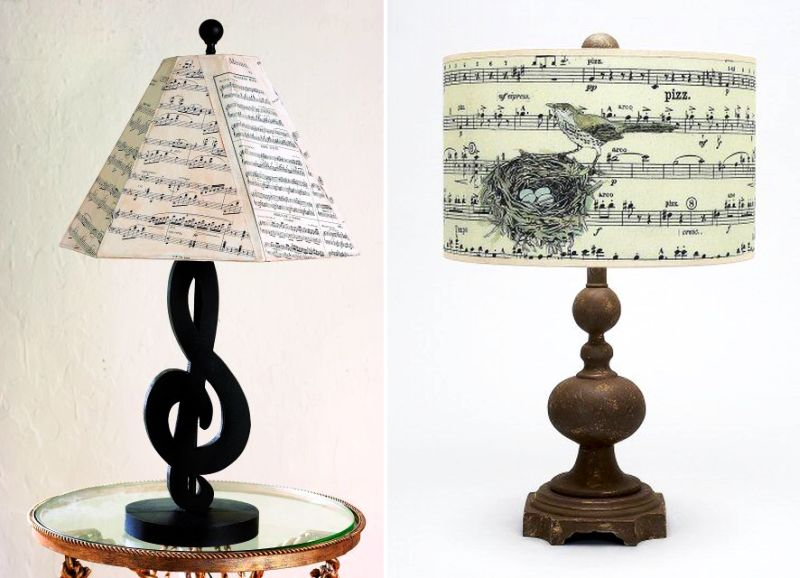 Delightful Lighting Ideas For Music Themed Home Decor