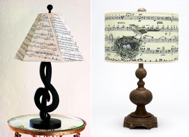 lighting ideas for music-themed home decor