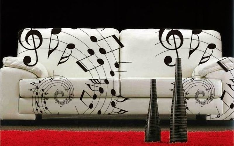 7 must try music-themed home decor ideas