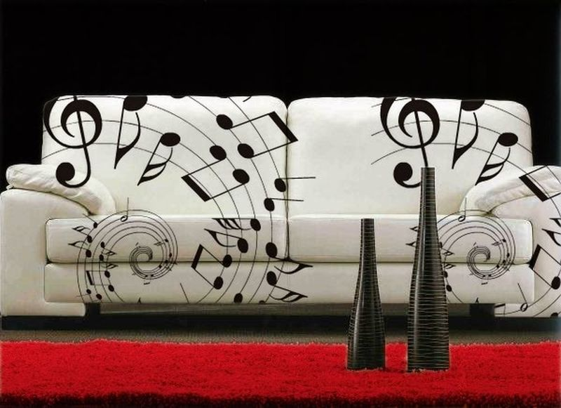 Music Inspired Sofa