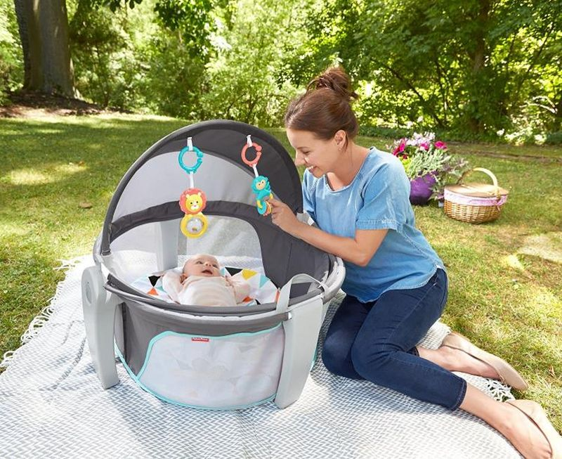 Uv Protected On The Go Baby Dome Is Perfect For Naptime Or
