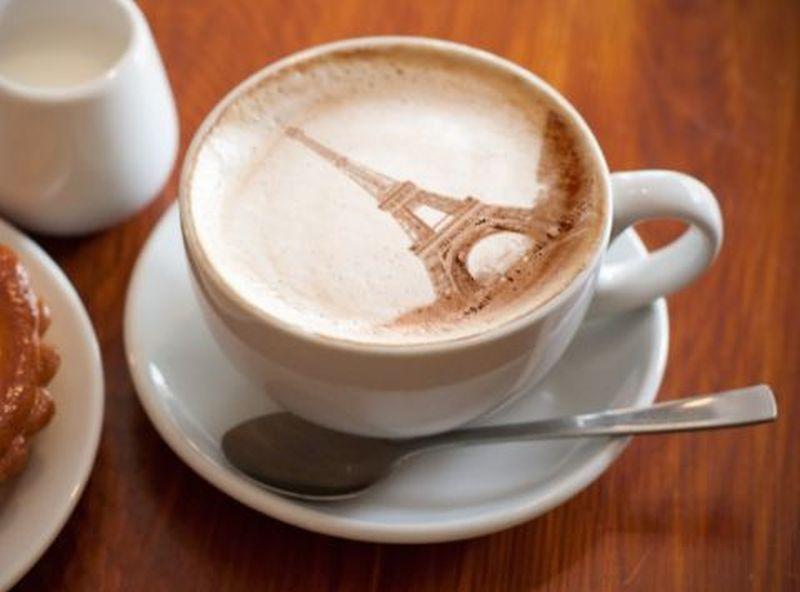 paris latte art
