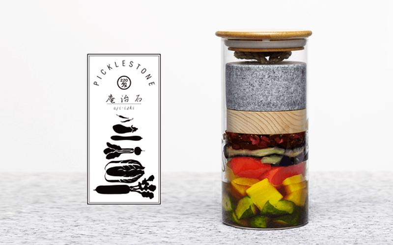 Picklestone is portable fermentation tool to make homemade pickles