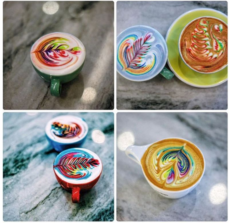 Best latte art designs