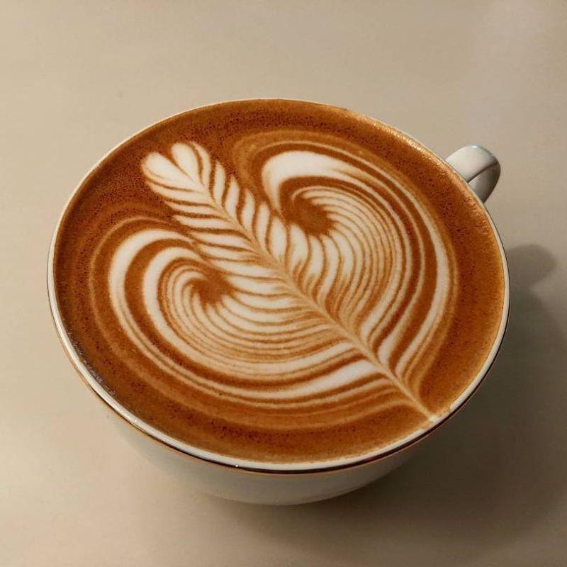 simple latte art