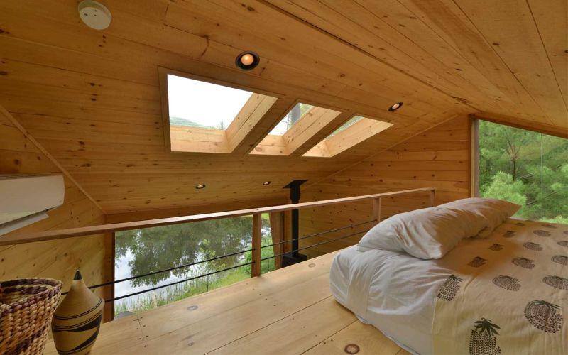Inhabit Treehouse Woodstock town bedroom