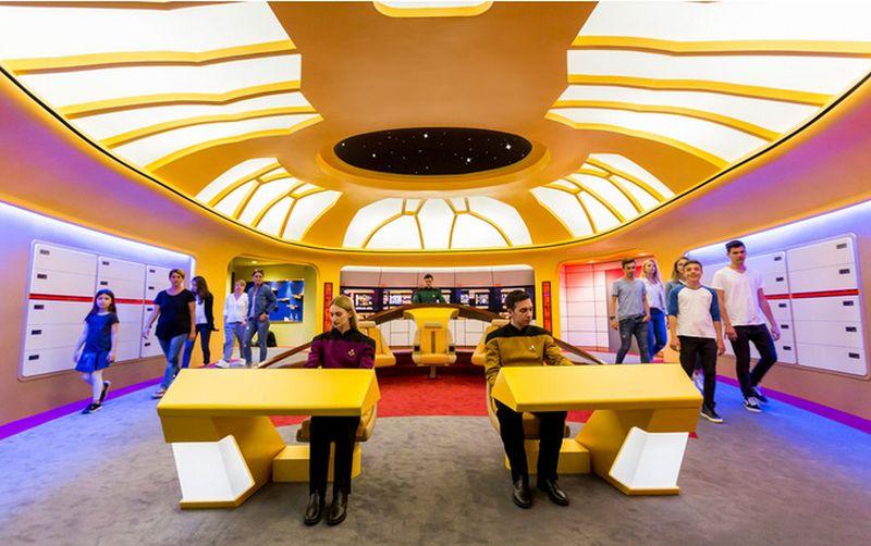world's first Star Trek roller coaster