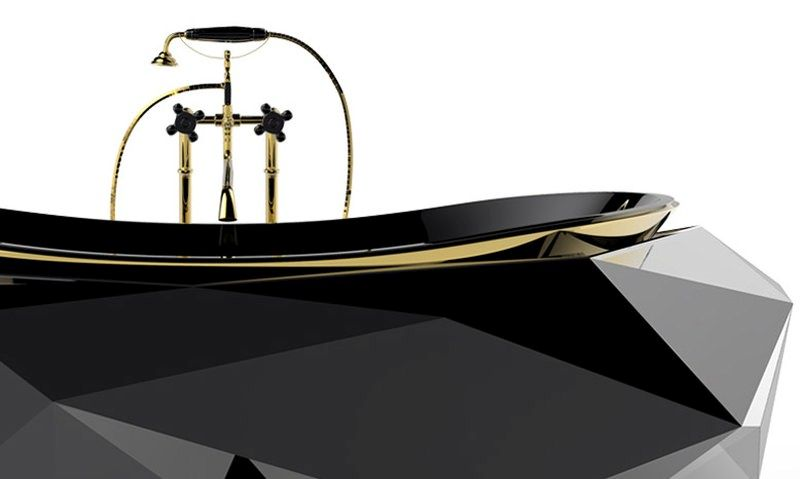 diamond bathtub by Maison