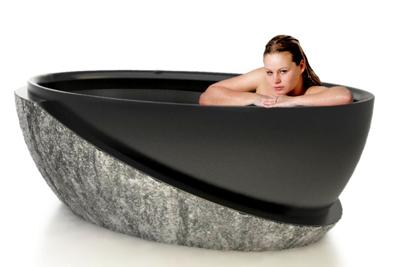 Roma natural stone bathtub