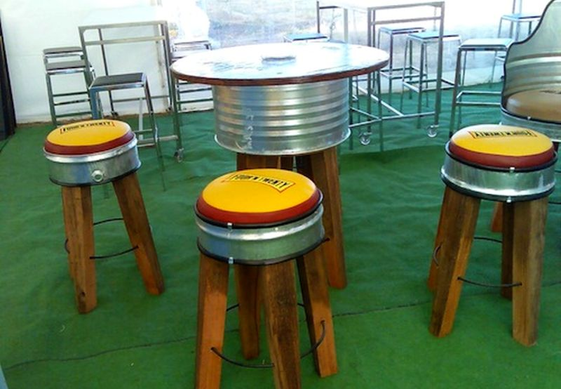 36 Creative Ways To Reuse Oil Drum As Furniture