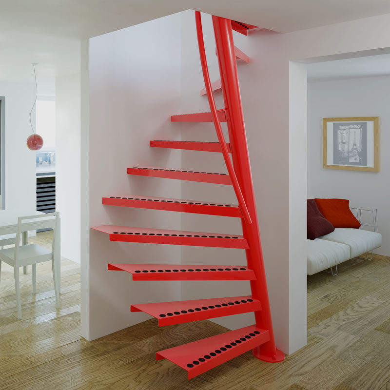 10 Eye Catching Staircase Designs For Unique Home Decor: 50 Best Staircase Design Ideas For Modern Homes