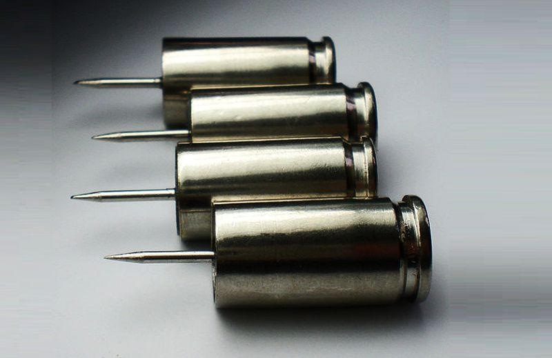 Winchester Nickel push thump pins