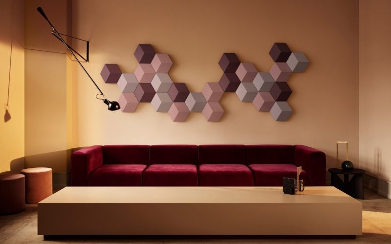 Geometric shape wall speaker