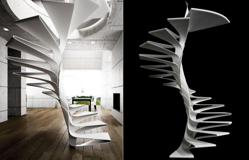 Folio staircase