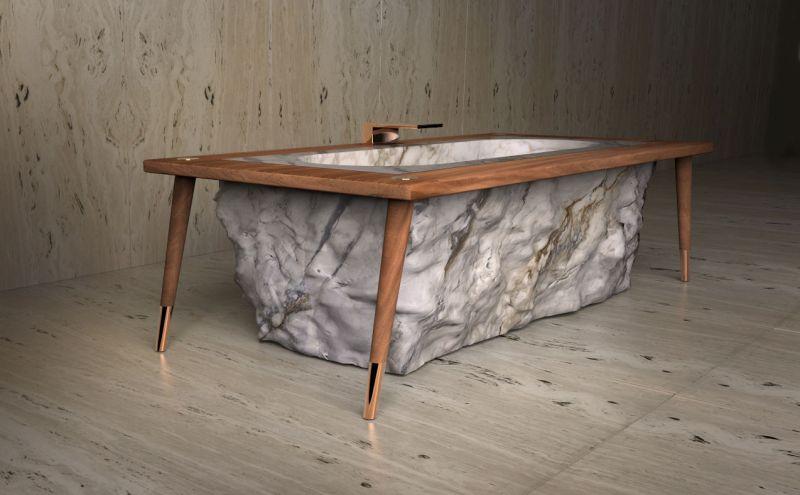 Pfeiffer bathtub by TCC Whitestone