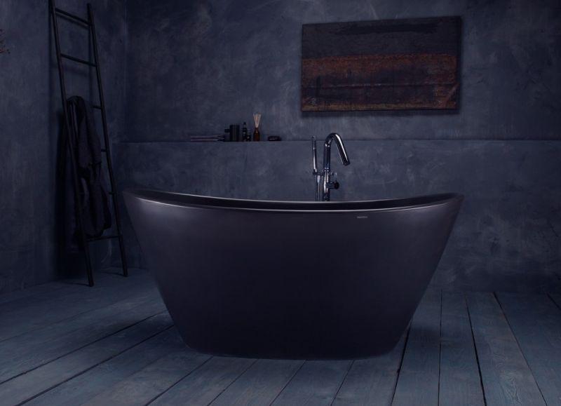 Graphite black surface bathtub