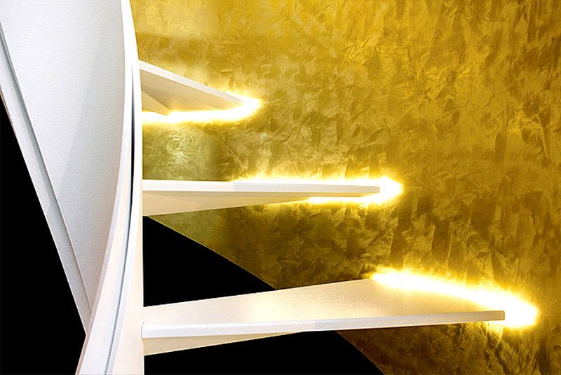 Helical staircase by Rizzi Scale