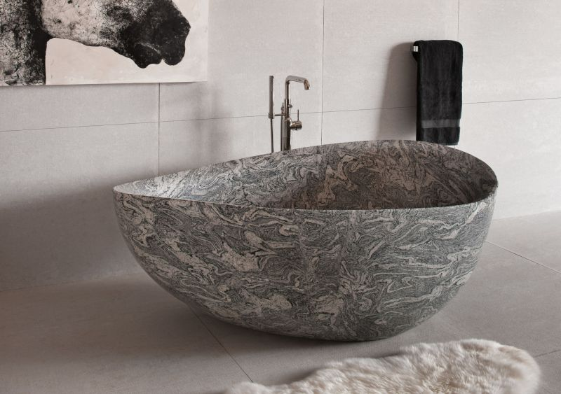 Papillon bathtub by Stone forest
