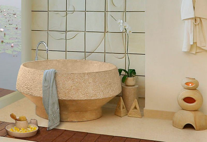KAMA DEVA bathtub by Marina Pandunata