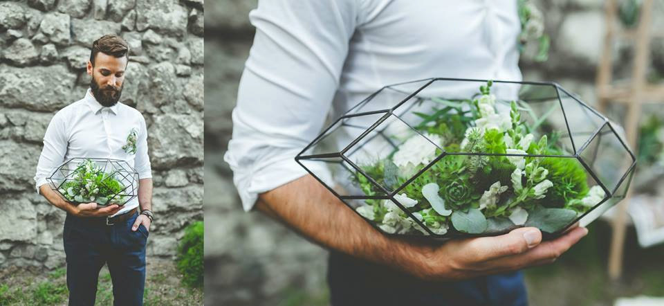 A geometrical terrarium