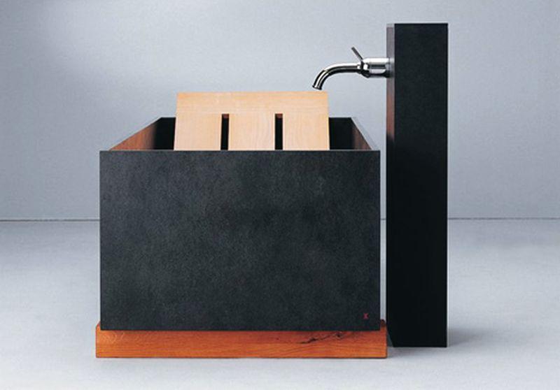 Slate bathtub from Maxim