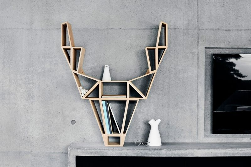 Deer bookshelf by Bedesign-2