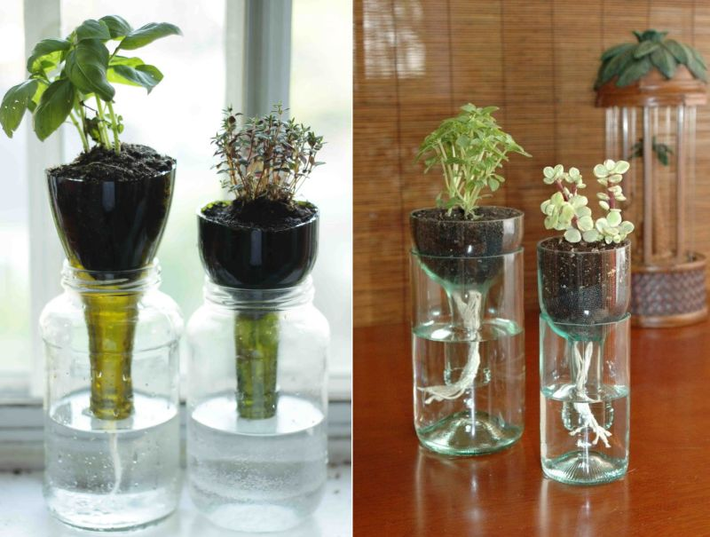 15 beautiful ways to recycle wine bottles