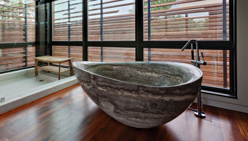 30 stone bathtubs that will rock your bathroom