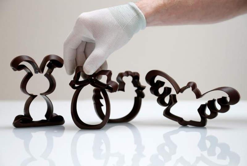 3D-printed chocolate treats