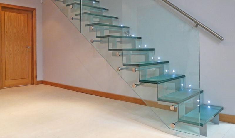 Glass Staircase By Diapo