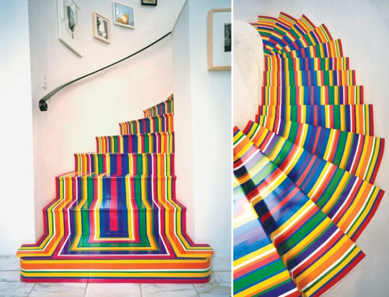 The rainbow staircase