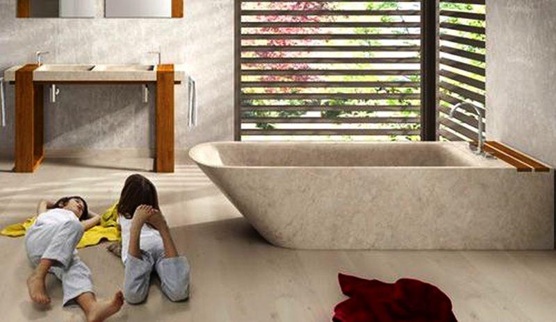 Stone Bathtub by Bathco