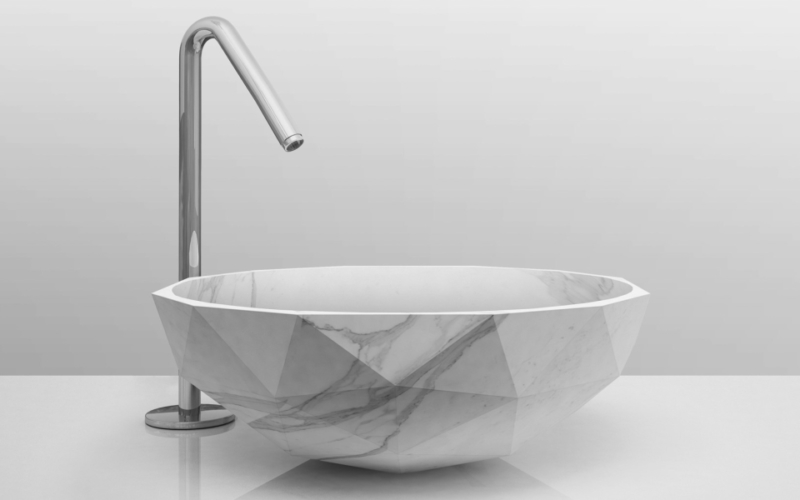 Diamond washbasin