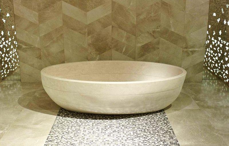 SAMARA BIOPROT natural stone bathtub