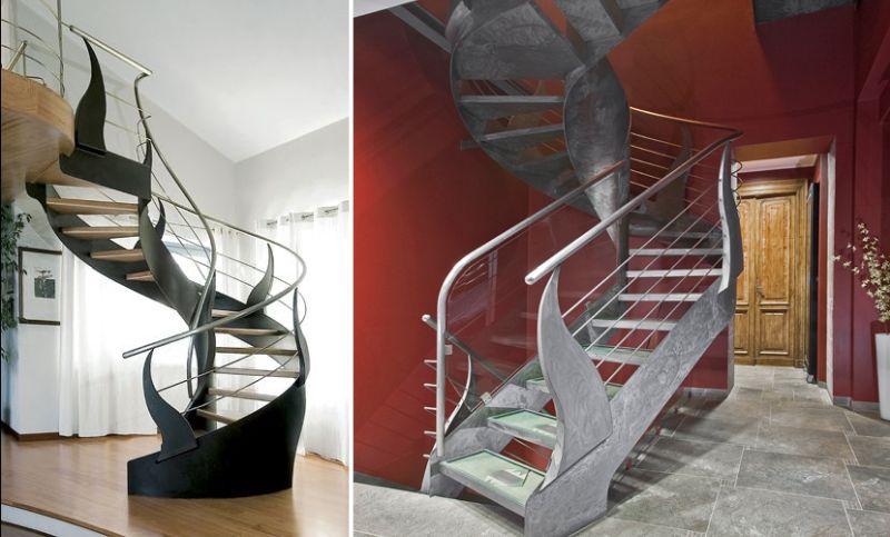 Extravagant staircase by Bonansea Scale