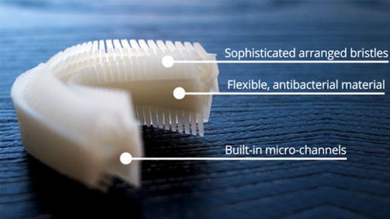 Amabrush toothbrush bristles