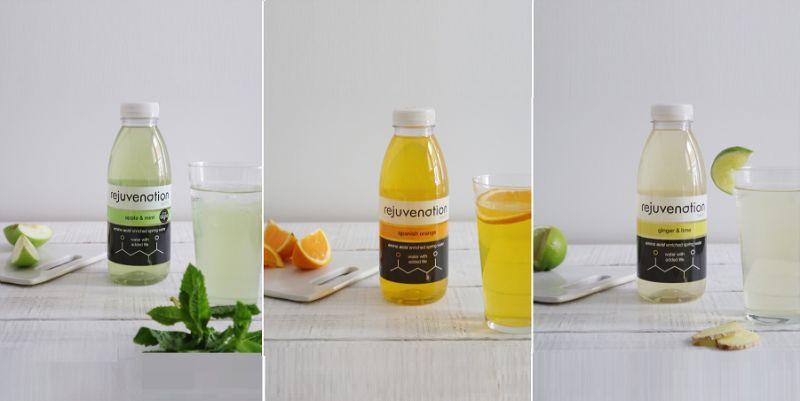 Rejuvenation amino acid enriched spring water
