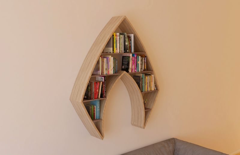 Aquaman Bookshelf