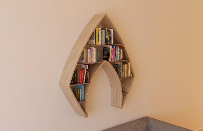 Aquaman Bookshelf