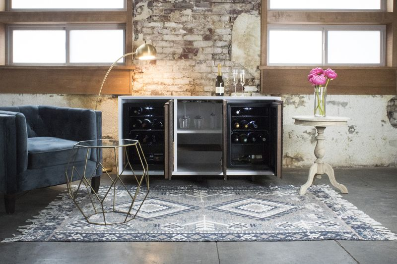 Brock wine fridge by Sommi Wine Cellars