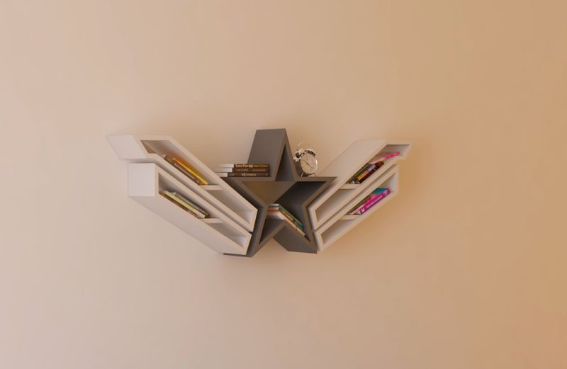 Captain America Bookshelf