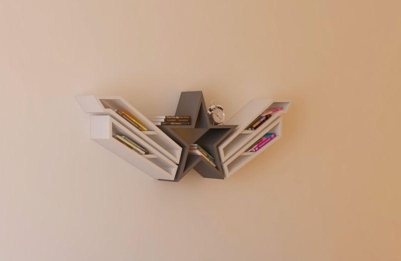 Captain America Bookshelf