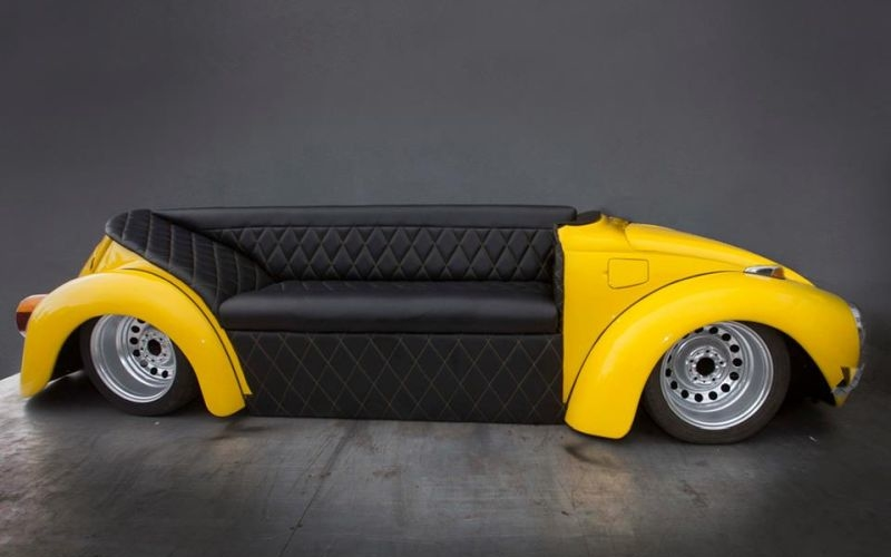 One look at the Beetle sofa and it'll become an object of your desire