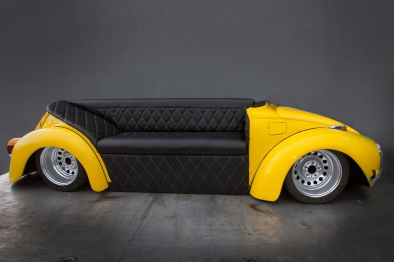 Car Sofa Beetle Herbie Couch by Evolution GT