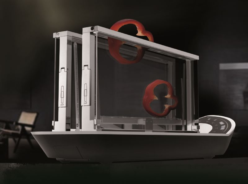 Cassa Bugatti Glass toaster