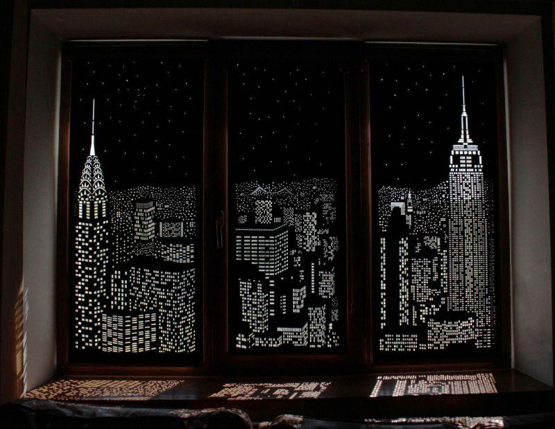 Cityscape blinds